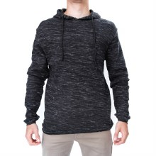 Andres Long Sleeve Waffle Textured Hoodie