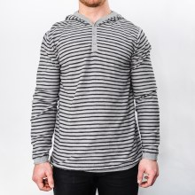 Bronxton Striped Henley Sweater