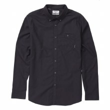BILLABONG BLACK ALL DAY LONG SLEEVE OXFORD S