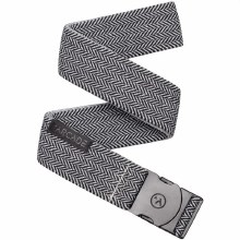 Arcade Ranger Black-Gray Stretch Men's Slim Belt