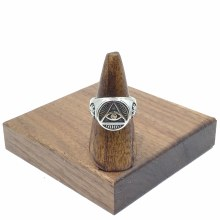Triangle Eye Ring