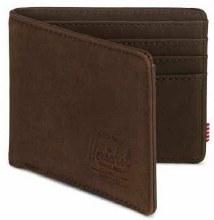 Herschel Hank+ RFID Security Bi-fold Leather Wallet