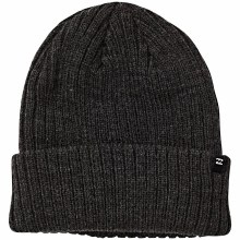 BILLABONG HEATHER BLACK ARCADE BEANIE