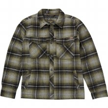 Billabong Barlow Military Plaid Flannel