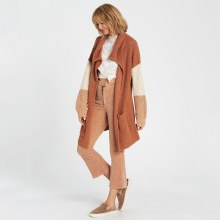 BILLABONG TOFFEE NEWCOMER CARDIGAN