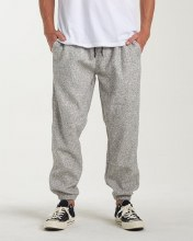 Billabong Boundary Drawstring Waist Fleece Pants