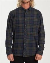 Billabong Freemont Long Sleeve Button-Up Plaid Shirt