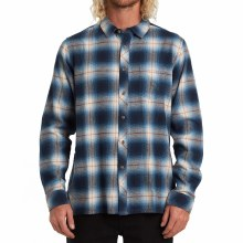 BILLABONG BLUE COASTLINE FLANNEL