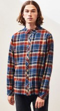 Billabong Coastline Long Sleeve Plaid Flannel Shirt