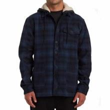 Billabong Furnace Button Front Fleece Lined Hoodie
