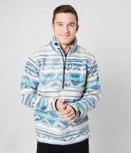 Billabong Chino Mock T-Neck Half Zip Pullover