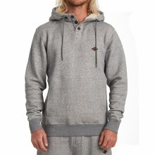 BILLABONG HEATHER GREY HUDSON PULLOVER HOODIE