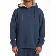 Billabong Hudson Long Sleeve Fleece Henley Hoodie
