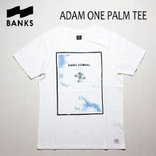 Banks Short-Sleeved Adam One Palm Tee-Shirt