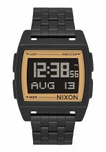 NIXON Base, 38 mm Black / Goldtone