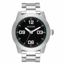 NIXON Corporal Stainles Steel  48mm in Black