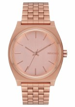 NIXON Time Teller 37mm in All Rose Goldtone