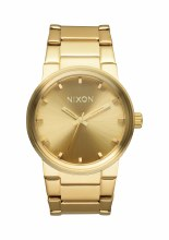 NIXON Cannon, 39.5 mm Goldtone