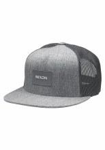 NIXON TEAM TRUCKER HAT HEATHER