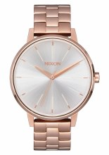 NIXON ROSE GOLD/WHITE KENSINGT