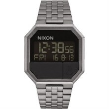 Nixon Re-Run, 38.5 mm All Gummetal