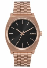 NIXON Time Teller, All Rose Goltone / Black Sunset
