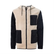 Soul Angelic Sherpa Style Wooly Zip-Up Jacket