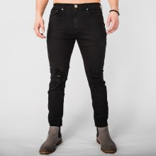 Neo Blue Super Skinny Destroyed Pant
