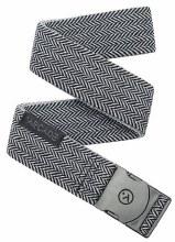 Arcade Ranger Black-Gray Stretch Men's Slim Belt