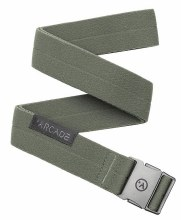 Arcade Ranger Ivy Green Stretch Men' Slim Belt