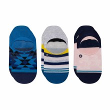 STANCE Avalon 3-Pack No-Show Socks