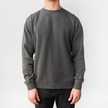 Bronxton Long Sleeve Crew Neck Pigment-Dyed Sweatshirt