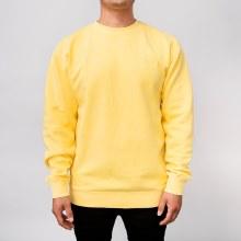 Bronxton Embroidered Pigment-Dyed Sweatshirt