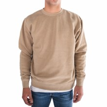 Bronxton Long Sleeve Crew Neck Pigment-Dyed Sweatshirt Hoodie