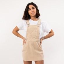 Bronxton Denim Overall Skirt