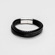 Bronxton Triple Leather Bracelet