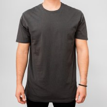 Bronxton Black Faded Crew Neck Tee