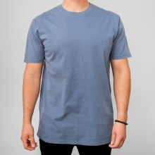 Bronxton Blue Faded Crew Neck Tee