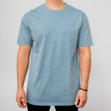 Bronxton Slate Faded Crew Neck Tee