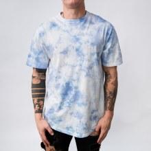 Bronxton Tie-Dye Short-Sleeve Crew