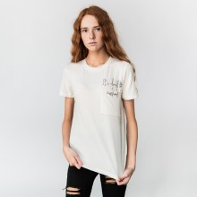 """""""It's Almost The Weekend"""" Graphic Short Sleeve Pocket Tee"""