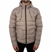 Soul Star MJ Cucumber Zip-Up Padded Hooded Jacket