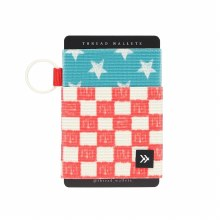 Thread Wallets Checkered Elastic Wallet