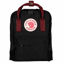 Raven Kanken Mini Black Ox Red