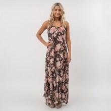 DF Floral Flare Maxi Dress