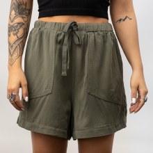 DF Wash High Waist Shorts