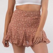DF Ditsy Floral Mini Skirt