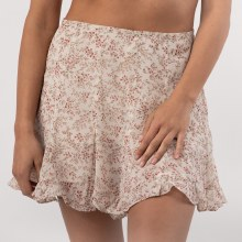 DF Floral Flare Mini Skirt