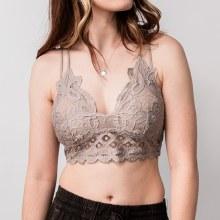 Anemone Crochet Lace Bralette