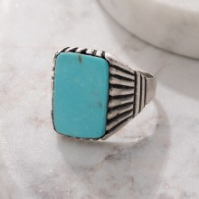 Navajo SS Stone Ring